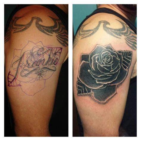 cover rose tattoo inkdonebypito