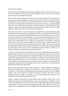 An Analysis of the Method Created By Konstantin Stanislavsky