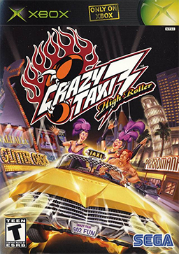 Crazy Taxi 3 - High Roller Coverart.png