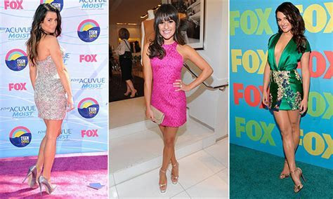 Legs to die for: 10 of Lea Michele's flirtiest summer looks