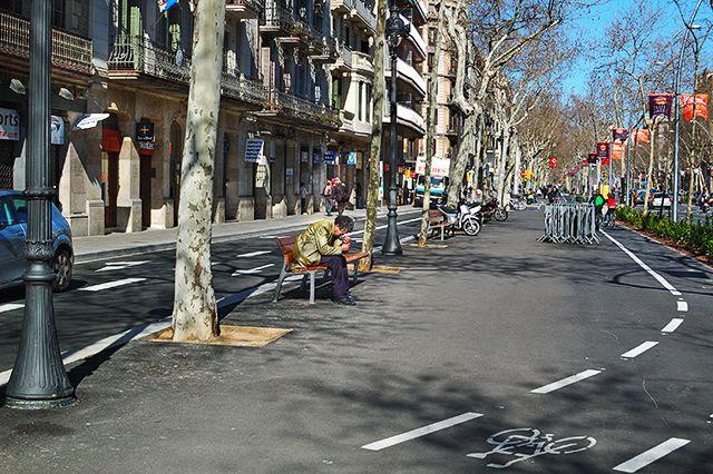 Lonely, Gran Via de les Corts, Barcelona [enlarge]