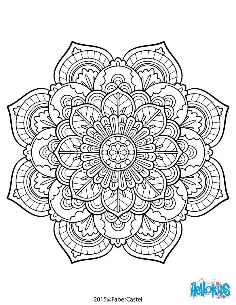 Libros Antiestrés Mandala Para Colorear 17 Dibujos Para Pintar