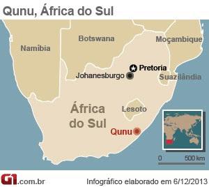 mapa qunu mandela (Foto: 1)