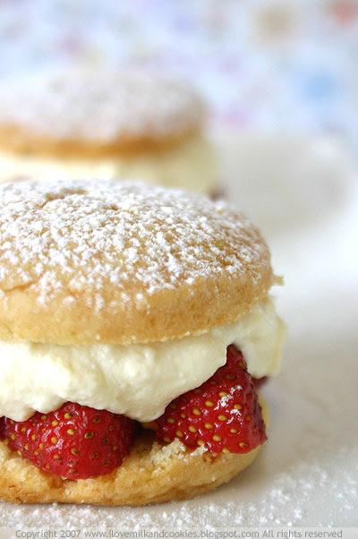 Strawberry and Ricotta Shortcakes