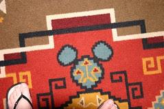 carpet mickey