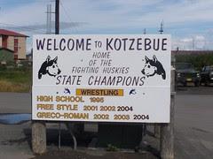 Welcome to Kotzebue, Alaska