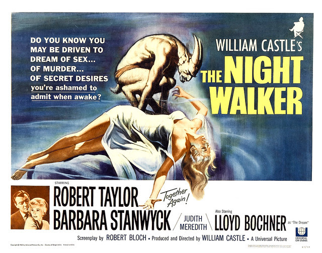 Reynold Brown - The Night Walker (Universal, 1964) half sheet
