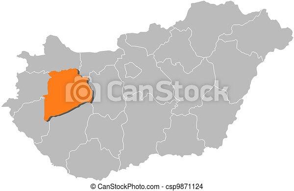 Magyarország Térképe Városokkal Falvakkal - Balaton Déli Part Térkép | Térkép - A ...