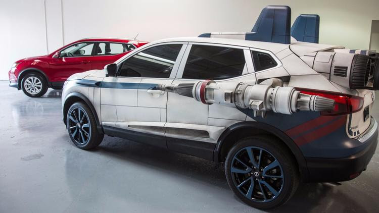 Nissan Star Wars-themed Rogue Sport SUV