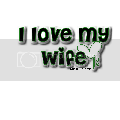 Husband Wife Facebook Graphic I Love My Wife
