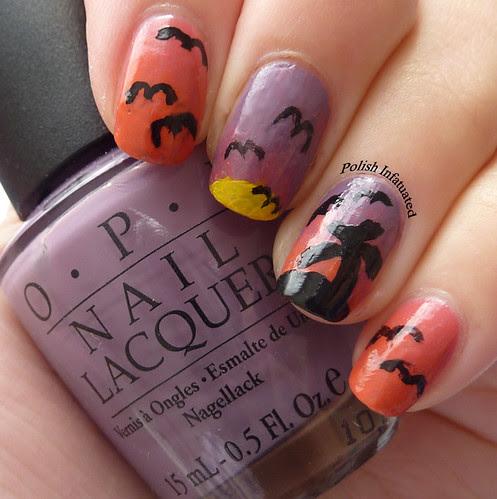 tropical nail art1