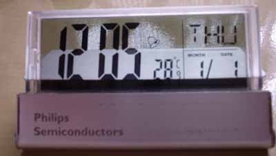Relógio Modificado
