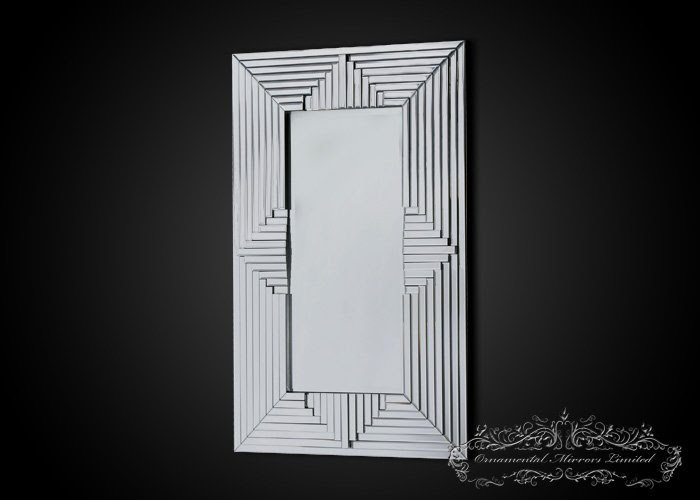 Art Deco wall mirror from Ornamental Mirrors Limited