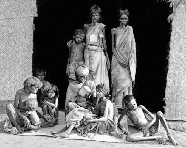 Hambruna en India, 1900
