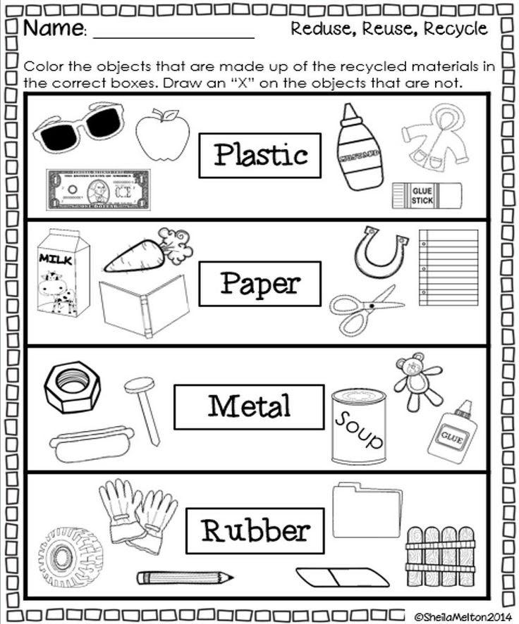 28 Reduce Reuse Recycle Worksheet Free Worksheet Spreadsheet - 36+ Recycling Sorting Worksheets For Kindergarten Background