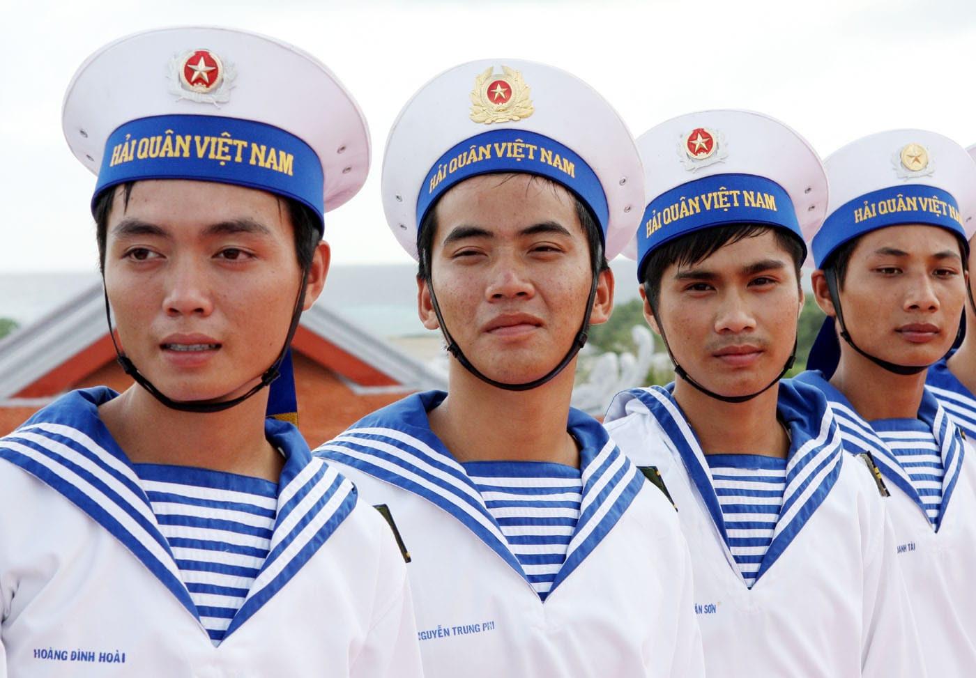 quân phục hải quân đánh bộ việt nam