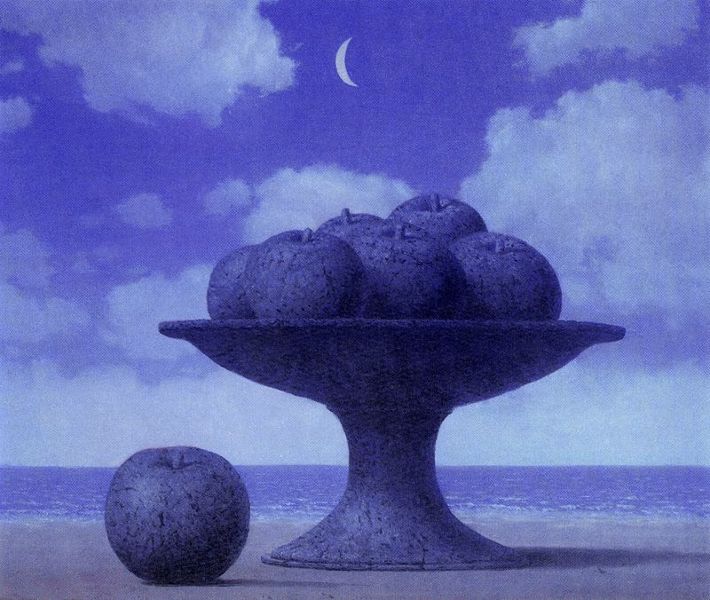 The great table, 1965 Rene Magritte