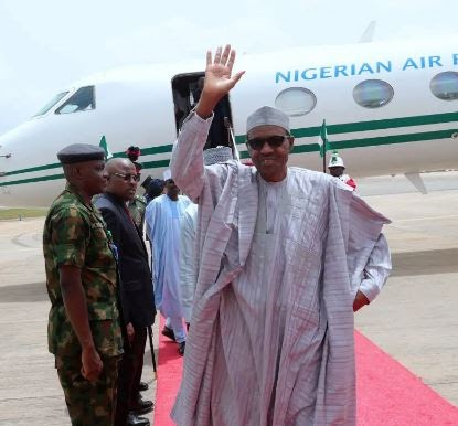 GUESS WHERE?? President Buhari Embarks On First Foreign Trip In 2020