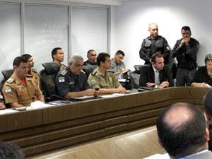 Autoridades estiveram reunidas nesta segunda no Centro Administrativo do RN