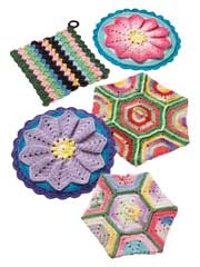 Scrap Potholders to Crochet - Electronic Download