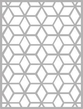 Hemere Cube Grid Backdrop Frame Metal Cutting Dies Stencil