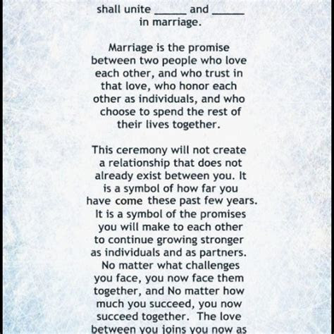 wedding ceremony script sample   Memorable of Wedding