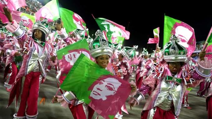 Mangueira é campeã do carnaval do Rio