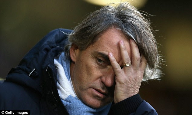 Not out of work for long: Mancini was sacked by Manchester City in May