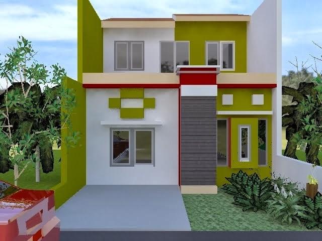 16+ Warna Cat Interior Dan Eksterior Rumah Minimalis ...