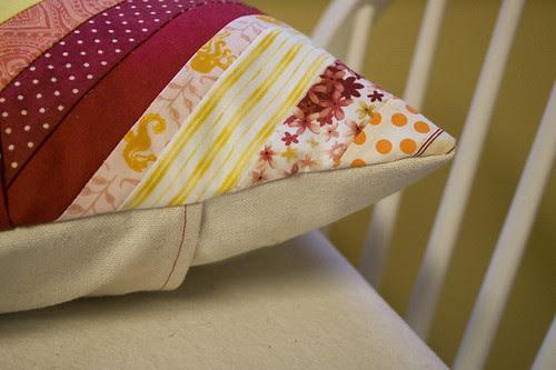 new pillow - detail