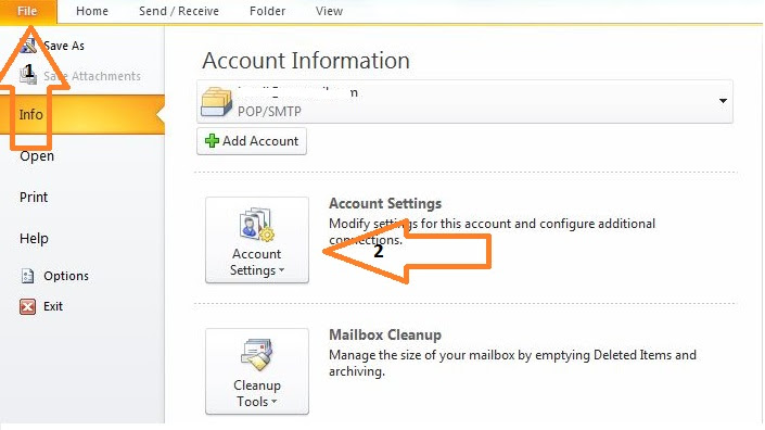 Resolving Outlook data file cannot be accessed