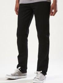 Topman Black Vintage Slim Jeans