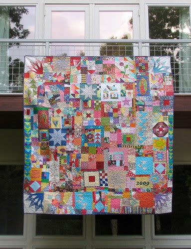 Everything but the Kitchen Sink quilt