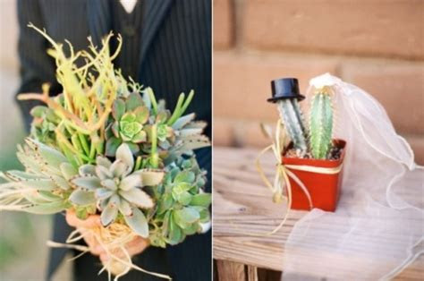 Picture Of Cacti And Succulent Wedding Decor Ideas