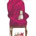 pug on chair