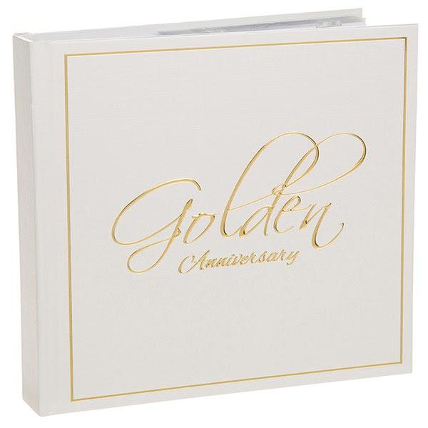 Golden Wedding Photo Album 50th Anniversary Gifts Winning Awards