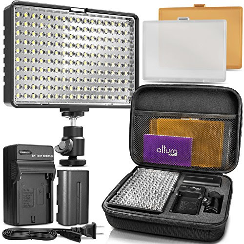 Altura Photo 160 Led Video Light For Dslr Camera And Camcorder
