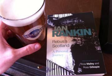 Un detalle de mi paseo por el Edimburgo de Rebus.