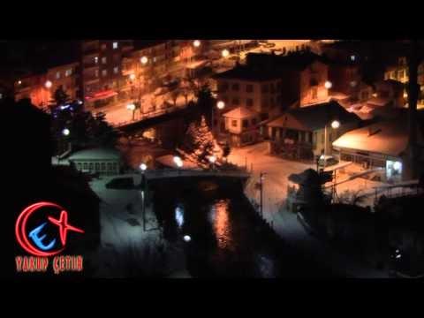 Bozkır Asartepe'den Bozkır Akşam Görünümleri 07.01.2013