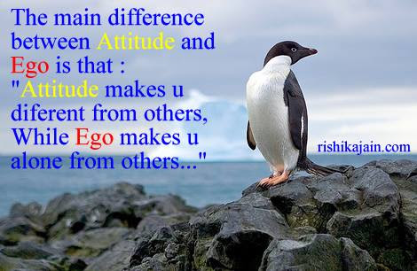 The Difference Between Ego Attitude