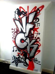 Graffiti Room on Pinterest | 49 Pins