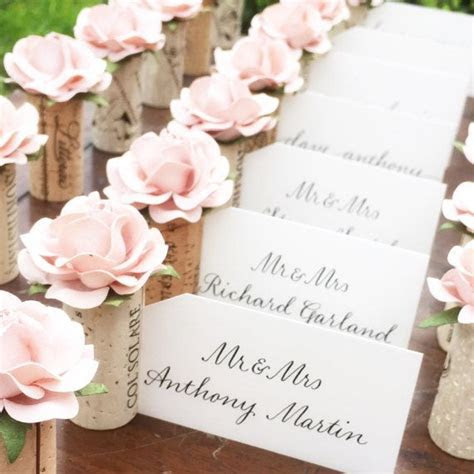 25  best ideas about Wedding place card holders on