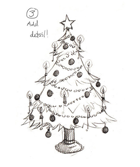 Top 100+ Christmas Tree Images For Drawing