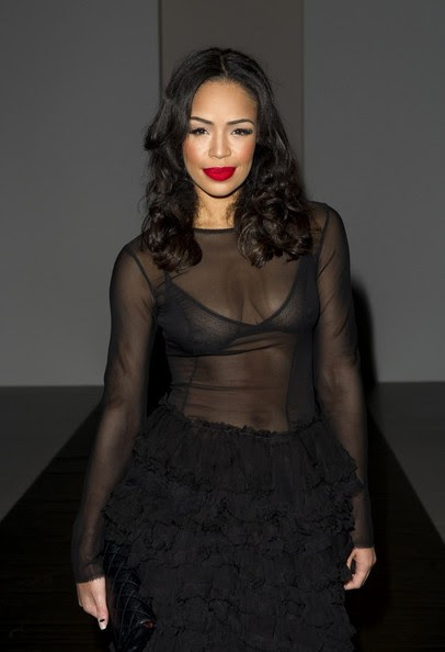 15/02/2014: LFW a/w 2014: John Rocha Show.Pictured: Sarah Jane Crawford.