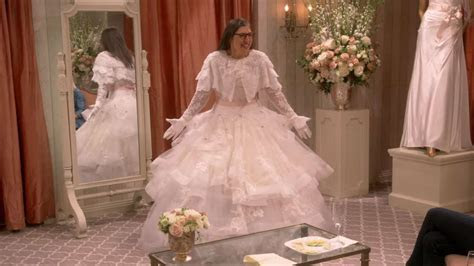 Here's why wearing wedding dresses on 'The Big Bang Theory