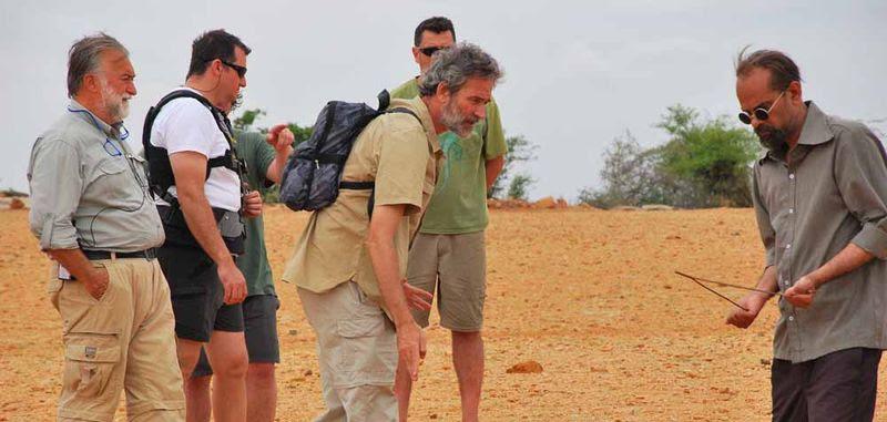 Jaskaran Santino Brady ensaya una de las escenas antes de rodar/ E. Garrido