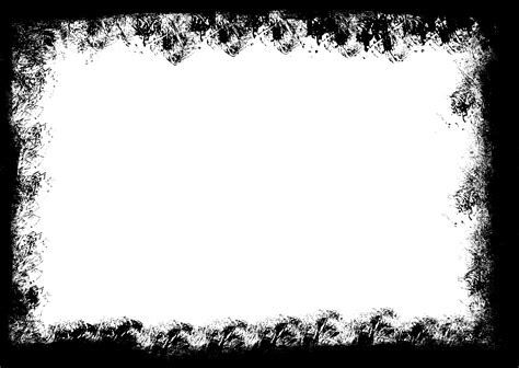 grunge frame png transparent vol  onlygfxcom