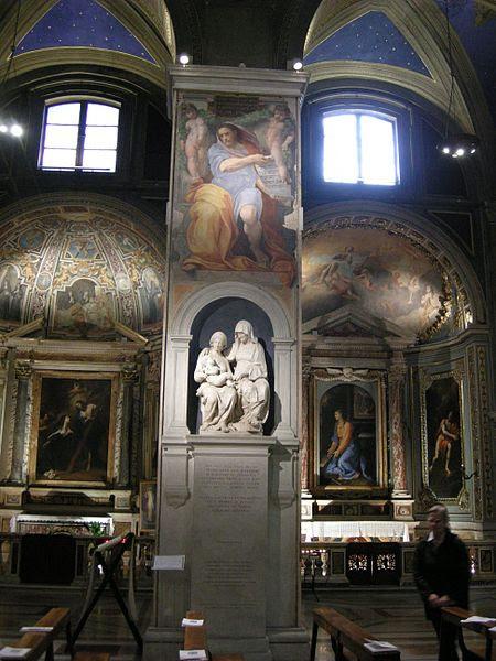 Fil: Sant'Agostino (Roma), Isaia di raffaello 01.1.JPG