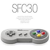 FC30シリーズ - スーパーファミコンのコントローラー風 SFC30 (Android/iOS/Windows/Mac OS用) レトロゲームコントローラ ワイヤレスブルートゥースゲームパッド Wireless Bluetooth Gamepad Dianziオリジナルバージョン[CXD0975] [並行輸入品]