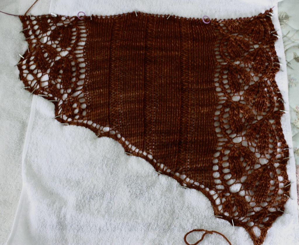 lace design in progress
